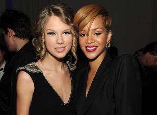 ¡Ni loca! Rihanna jamás cantaría con Taylor Swift
