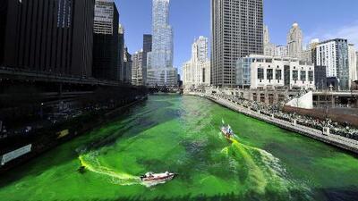 El Desfile del Día de San Patricio se celebró en Chicago para homenajear la cultura irlandesa