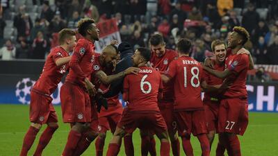 El Bayern Munich sorprendido en casa remontó con actuación inolvidable