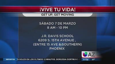 ¡Get Up, Get Moving!
