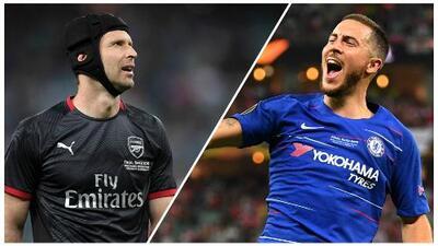 Noche de despedidas: seguimiento a Petr Cech y Eden Hazard en la Final de la Europa League