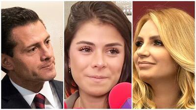 Hija mayor de Enrique Peña Nieto revela cómo es su actual relación con Angélica Rivera