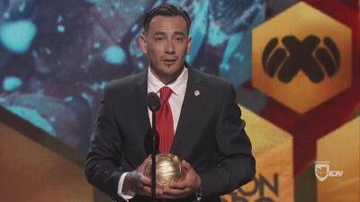 Rubens Sambueza: ganador del Balón de Oro al Mejor Medio Ofensivo
