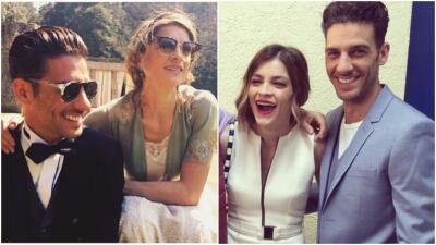 Irene Azuela y Erick Elías son los mejores amigos detrás de cámaras