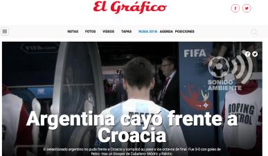 Decepción y optimismo, así reaccionaron los medios argentinos tras la derrota ante Croacia