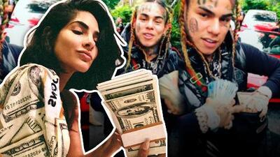 Alejandra Espinoza presume miles de dólares al estilo Tekashi69 (aunque no es lo que parece)