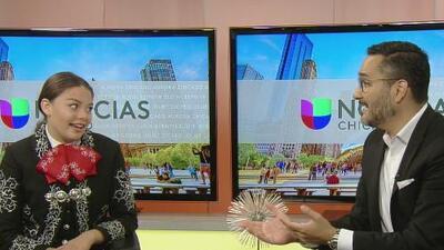 Kathy Navigato, una joven estadounidense que lucha por mantener sus raíces hispanas