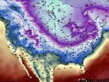 """Anticipan temperaturas congelantes para la próxima semana debido a desplazamiento del """"vórtice polar"""""""