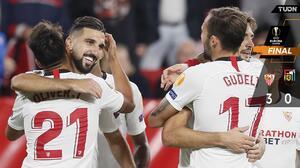 El Sevilla sentenció al Dudelange y camina en Europa League