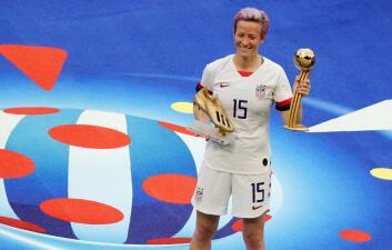 Gala de lujo en el título de Estados Unidos como campeón del Mundial de Fútbol Femenino