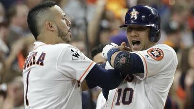 Los Astros ponen la Serie Mundial 'en japonés' al vencer a los Dodgers 5-3 en el Juego 3