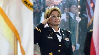 Marta Carcana, orgullosa de abrir paso a las hispanas en las Fuerzas Armadas