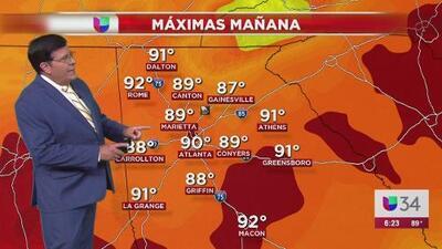 Este viernes tendrá cielos parcialmente despejados y será caluroso