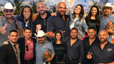 Desde Banda MS hasta Laura Pausini, estos artistas visitaron a 'El Bueno, La Mala y El Feo' en Miami