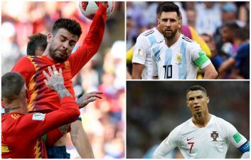 El anti 11 de los octavos de final del Mundial de Rusia 2018