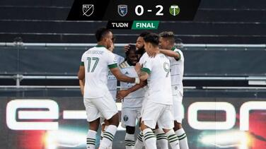 SJ Earthquakes no reacciona y Portland lo sentenció