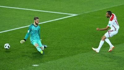 El 1-0 con el que Marruecos sorprendió a España