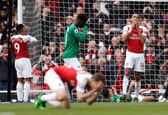 En fotos: Arsenal sufre a costa del Brighton y casi se queda fuera de la Champions tras empatar