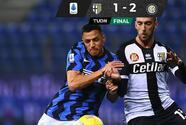 El Inter gana con un gol 'fantasma' al Parma