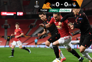 Sin daños, Manchester United cumple el trámite y está en Octavos