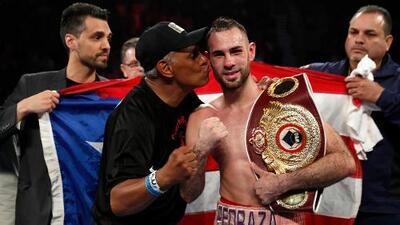 José Pedraza luce entusiasmado para la pelea más importante de su carrera ante Lomachenko