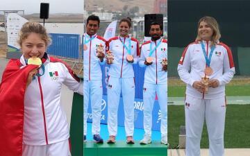 México llega a 12 medallas de oro en Lima 2019 este 29 de julio