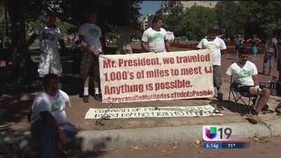 Inmigrantes mutilados ayunarán 10 días frente a la Casa Blanca