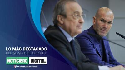 Noticiero Digital: Zidane vuelve al Madrid, Sergio Ramos se confiesa y problemas para un crack francés en Italia