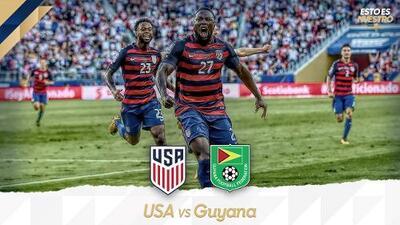 El campeón inicia su defensa: Estados Unidos chocará ante el debutante Guyana