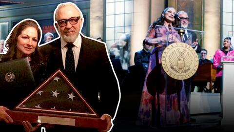 Emilio y Gloria Estefan vuelven a hacer historia: reciben el premio Gershwin de la Biblioteca del Congreso