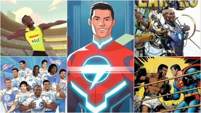 Cuando las estrellas del deporte pasaron a los dibujos: el comic de Cristiano y otros más