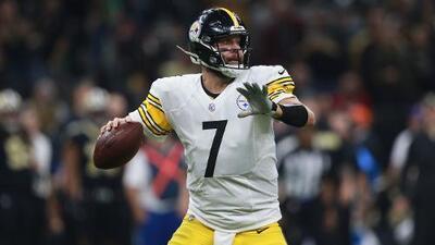 Él sí se queda: Roethlisberger y Steelers acuerdan extensión de contrato