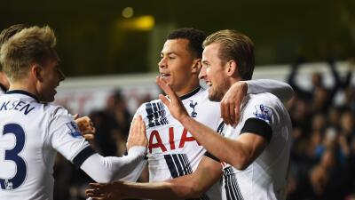 El Tottenham golea al West Ham y se acerca a la Liga de Campeones