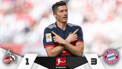 Bayern Munich golea de visita al Colonia