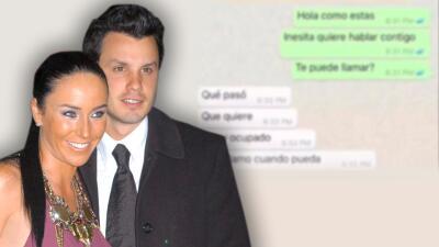 Estos son los mensajes privados, uno a uno, entre Inés Gómez Mont y su exesposo en la pugna por sus hijos