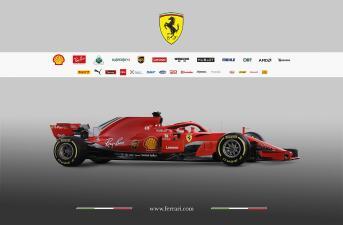 Ferrari lanzó su coche para el 2018: así ha evolucionado el hermoso 'Cavallino Rampante' en los últimos años