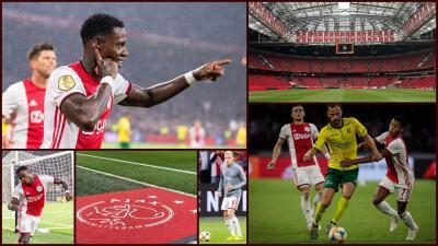¡Goleada del Ajax en la Eredivisie!