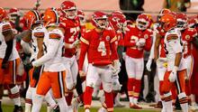 Chiefs logran agonizante triunfo frente a los Browns
