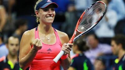 Angelique Kerber, finalista del US Open y nueva número uno del mundo
