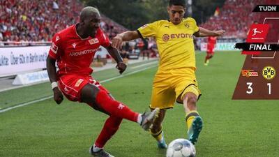 Union Berlin aplacó al Dortmund y sumó primer triunfo