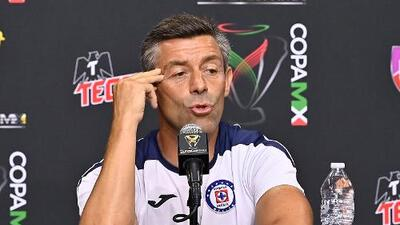 """Pedro Caixinha visualiza a un Cruz Azul ganador: """"Aspiramos al Triplete"""""""