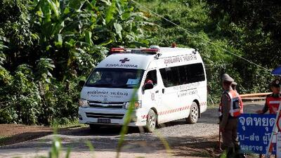 Así fue la segunda jornada de rescate en la cueva de Tailandia donde ya solo quedan cinco personas
