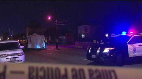 Policía de Los Ángeles investiga la muerte de un peatón que fue arrollado por un vehículo