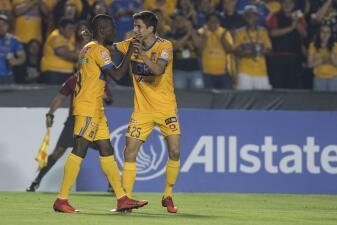 Tigres superó a Herediano en el Volcán y pasó a cuartos de final de la Liga de Campeones de Concacaf