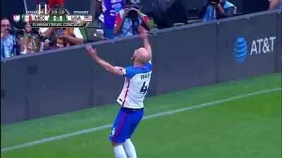 Goooolll!! Michael Bradley mete el balón y marca para USA