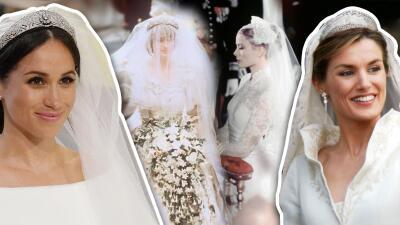 Los mejores vestidos de bodas reales de todos los tiempos