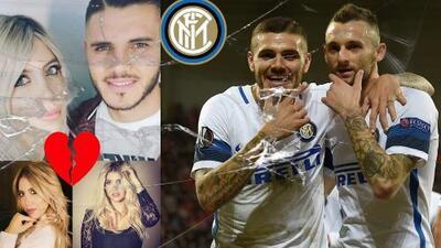 ¡Triángulo amoroso en el Inter: Icardi-Wanda-Brozovic! Renovación, peleas, pedradas… ¿Infidelidad?