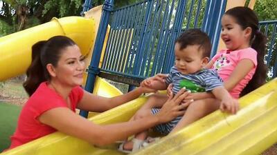 Risas, juegos y cantos: Ana Patricia se divierte aprendiendo con Giulietta y Gael en el parque