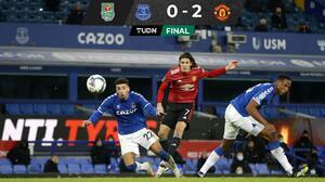 Cavani impulsa al Manchester United a Semis de la Carabao Cup