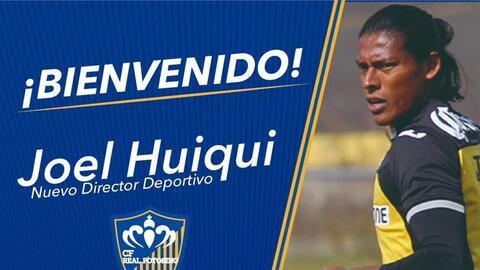 ¡Regresa y con pantalón largo! Joel Huiqui será director deportivo en México